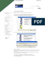 Processo de instalação - Office 2007  Portal Action