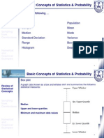 Basic Concepts of Statistics and Probability (2 of 3)