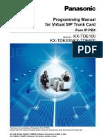 Programming Manual for SIP