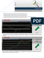 Forex Market Insight 18 August 2011