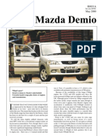 Mazda Demio May00 Test Update