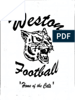 Weston Wildcats Wing T