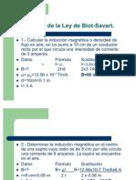 Problemas de Biot Savart