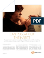 Special Report - In Russia, A Glut of Heroin and Denial