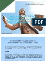 JOSE ALEJANDRO ARZOLA ISAAC, DECLARACIÓN DE LOS DERECHOS DEL HOMBRE Y DEL CIUDADANO (1789)