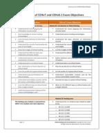 CEH v7 and CEH v6.1 Exam Objectives Comparison