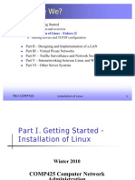 02. Part I - Installation of Linux