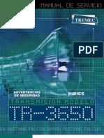 TR3650 Service Manual Spanish
