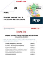 Cajamarca Iron Ores Economic Proposal Noe Peru