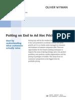 Retail06-Adhocpricing