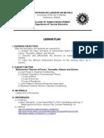 Lesson Plan (Module 10)