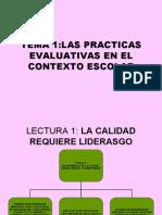 Materia de Evaluacion y Seguimiento en La Escuela Mf