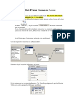 Resolucion Del Demo de Primer Examen de Access
