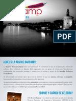2011 Apache Bar Camp Spain Sponsorship Brochure