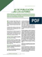 NORMAS DE PUBLICACION