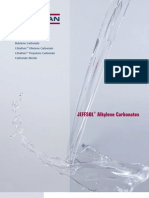 JEFFSOL Alkylene Carbonates Brochure)