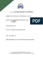 Curriculum rial Abril 2006