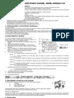 Nordika 2160 Manual