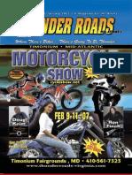 Thunder Roads Virginia Magazine - January '07