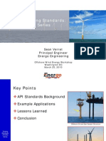 Wind Turbine API RP2 Series