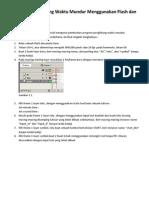 Membuat Penghitung Waktu Mundur Menggunakan Flash dan ActionScript 2.0