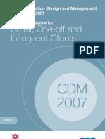 CDM Clients Guidance