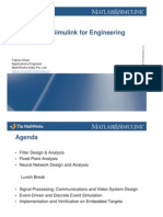 MATLAB Simulink for Engineering Education