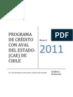 Informe Programa de Crédito con Aval del Estado, Banco Mundial