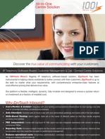 1001tech IPvox Inbound Call / Contact Centre - Datasheet