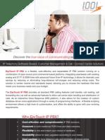 1001tech IPvox IP PBX Datasheet