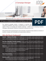 1001tech IPvox Outbound Campaign Manager Datasheet