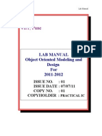 OOMD Manual 2011