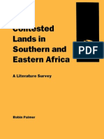 Contested Lands in Southern and Eastern Africa
