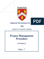 PSP001 - Project Management Procedure