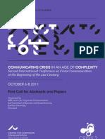 Corp Communication Crisis Conference