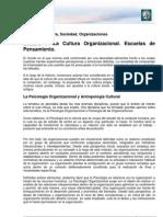 Lectura 1 - Cultura Organizacional Escuelas de to Plantilla