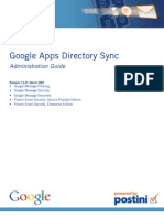 Google App Dir Sync