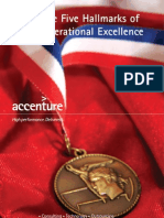 Accenture Operational Excellence
