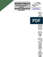 AUXILIAR OPERACIONAL -ELETRICISTA