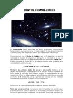 Horizontes cosmológicos