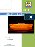 Rail Wheel Factory In Plant Training Report