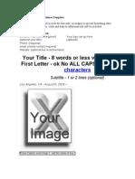 Sample of Press