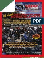 Thunder Roads Virginia Magazine - July '08