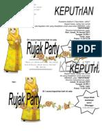Angket Rujak Party