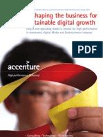 Accenture - 5° Estudio Global de Alto Rendimiento en la Industria de Medios y Entretenimiento