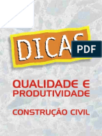 CARTILHA DA CONTRUÇÃO CIVIL