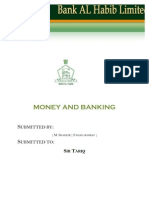 Report of Money and Banking