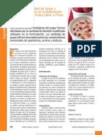 Efecto de la Cantidad de Grasa y Almidón Modificado en la Elaboración de Yogur Bajo en Grasa Sabor a Fresa y sin Azúcar