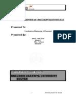 COSLAB Internship Report by Khalid
