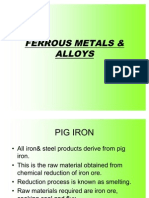 Copy of METALS & ALLOYS and P&O Applications